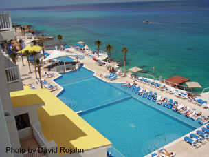 Cozumel Palace View