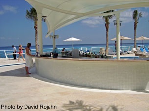 Cozumel Palace Pool Bar